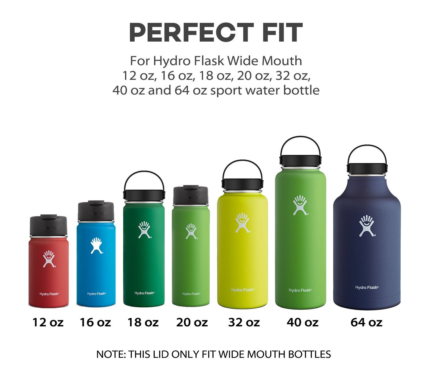 Water Bottle Volume: Hydro Flask Wide Mouth Vs Standard